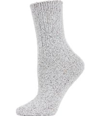 pretty plush glitter crew socks
