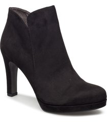 woms boots - lycoris shoes boots ankle boots ankle boot - heel svart tamaris