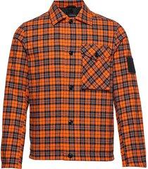 danube shj overshirt oranje peak performance