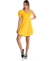 vestido-kolor latino-936-mostaza