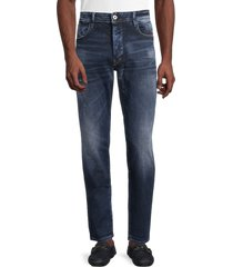 g-star raw men's g-bleid slim jeans - worn in - size 28 32