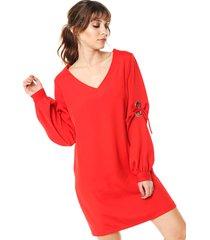 vestido rojo zulas fenix