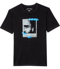 camiseta john john polaroid masculina (preto, gg)