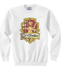 gryffindor #2 crest unisex crewneck sweatshirt / sweater white