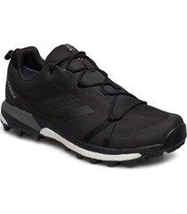 terrex skychaser lt gtx shoes sport shoes outdoor/hiking shoes svart adidas performance