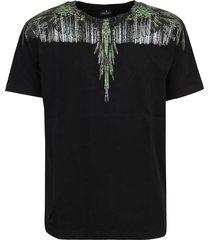 marcelo burlon t-shirt wood wings