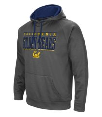 colosseum california golden bears men's poly performance hooded sweatshirt
