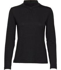 t-shirt l/s turtleneck polotröja svart brandtex