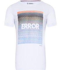 camiseta masculina error - branco