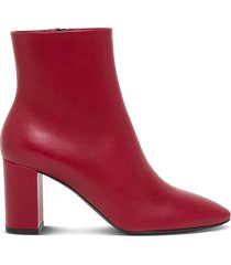 saint laurent lou 70 leather ankle boots