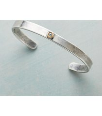 diamond in the rough cuff bracelet
