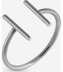 anillo mujer midi  hamptom silver millner