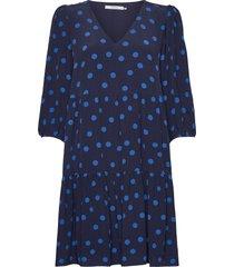 annaligz dress ze2 20 korte jurk blauw gestuz