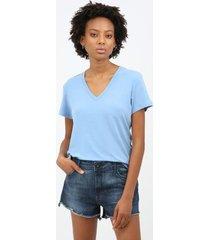 t-shirt line - azul claro - m