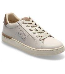 lowline lowline womens shoes låga sneakers beige coach