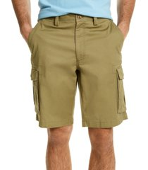 club room men's stretch cargo shorts, created for macy's