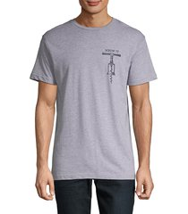 body rags clothing co men's screw it graphic tee - heather grey - size m