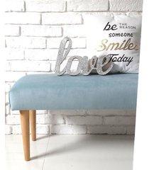 ławka ławeczka puf tapicerowana pastelowa wymiar