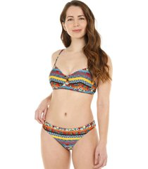 bikini copa tela con brillo h2o wear