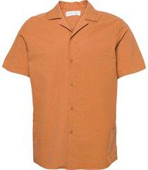 einar sx shirt 11389 kortärmad skjorta orange samsøe samsøe