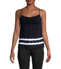 bailey 44 women's elba camisole top - midnight blue - size xs