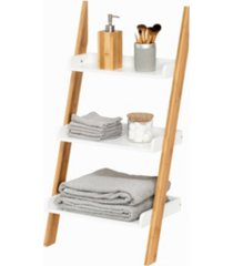 honey can do 3-tier leaning bathroom ladder shelf