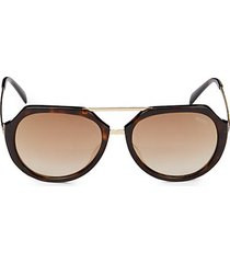 56mm oval sunglasses