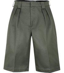 jacquemus cotton bermuda shorts
