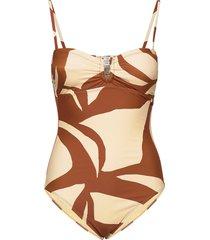 julia swimsuit baddräkt badkläder beige second female