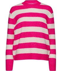 betty stickad tröja rosa custommade