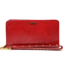 billetera amy rojo prune