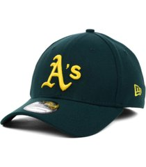 new era oakland athletics mlb team classic 39thirty stretch-fitted cap