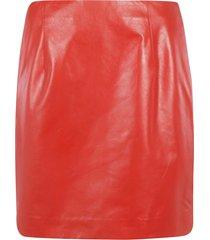 theory side zipped skirt