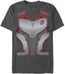 marvel men's avengers endgame quantum suit costume short sleeve t-shirt