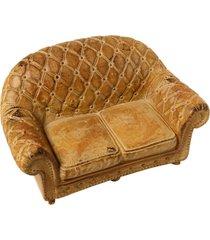 sofá decorativo de resina
