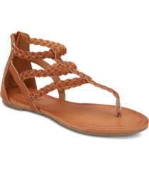 olivia miller day trippin braided strap sandals women's shoes