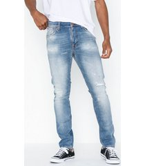 nudie jeans lean dean broken summer jeans denim
