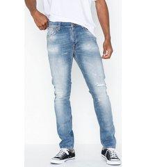 nudie jeans lean dean broken summer jeans denim