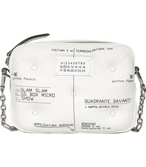 maison margiela glam slam micro box shoulder bag