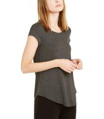 alfani heathered t-shirt, created for macy's