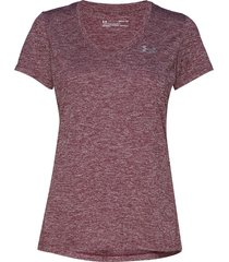 tech ssv - twist t-shirts & tops short-sleeved lila under armour