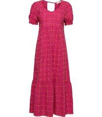latrice dress maxiklänning festklänning rosa odd molly