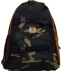 carhartt kickflip backpack in camouflage synthetic fibers