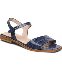 a-1404 shoes summer shoes flat sandals blå wonders