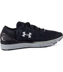 tenis gris under armour charged bandit 3