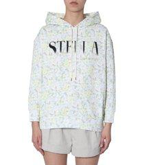 stella mccartney floral-print sweatshirt