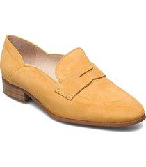 b-7611 ante loafers låga skor gul wonders