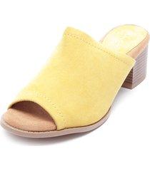 sandalia amarillo qupid