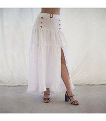 falda blanca para mujer julia falda julia blanco-l