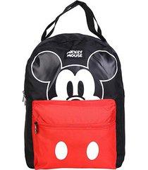 mochila infantil xeryus mickey disney mouse - masculino